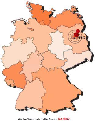 Wo liegt eigentlich... Topographie Deutschland