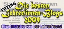 Die besten Lehrer/innen-Blogs 2009